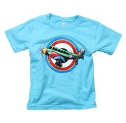 Wes & Willy Airplane Short Sleeve Tee