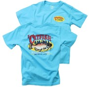 Wes & Willy Catfish Fishing Camp SS Tee VU Blue