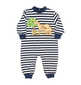 The Bailey Boys Horse Applique Knit Romper