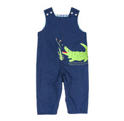 The Bailey Boys *PREORDER* Alligator Applique Reversible Jon Jon