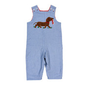 The Bailey Boys *PREORDER* Dog with Shoe Applique Reversible Jon Jon