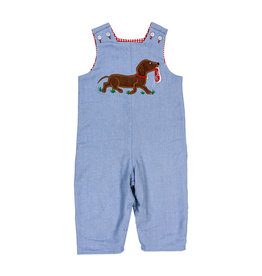 The Bailey Boys Dog with Shoe Applique Reversible Jon Jon
