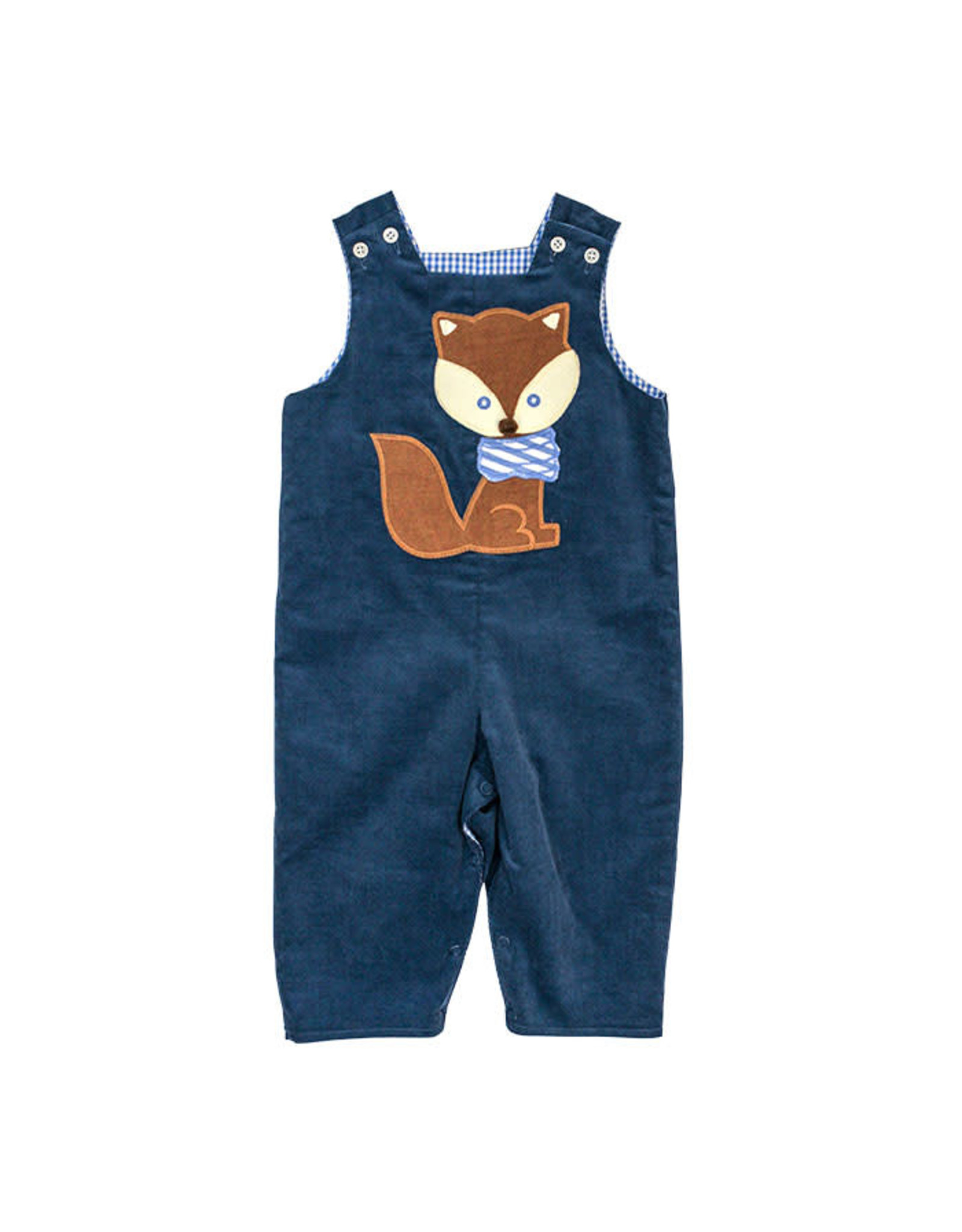 The Bailey Boys Fox Applique Reversible Jon Jon