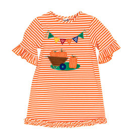 The Bailey Boys *PREORDER* Harvest Party Applique Knit Dress