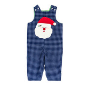 The Bailey Boys *PREORDER* Santa Face Applique Reversible Jon Jon