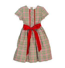 The Bailey Boys Mistletoe Plaid Dress