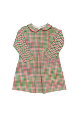The Bailey Boys Mistletoe Plaid Jill Dress