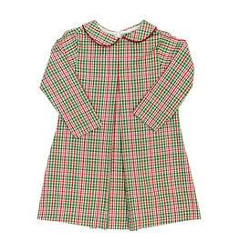 The Bailey Boys Mistletoe Plaid Jill Dress