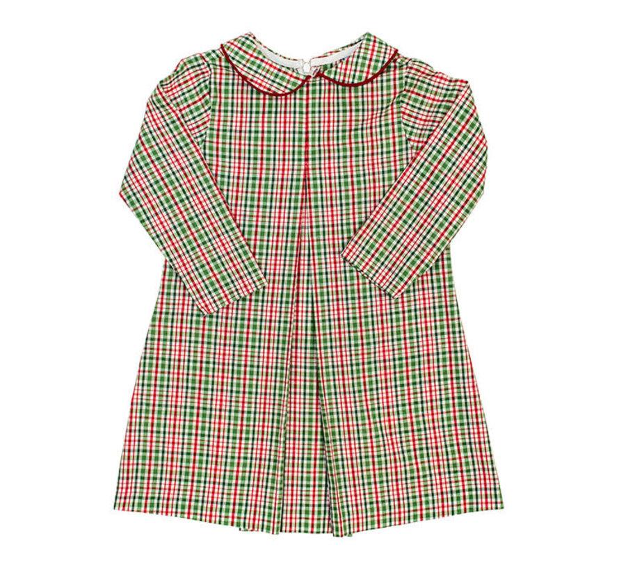 *PREORDER* Mistletoe Plaid Jill Dress