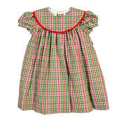 The Bailey Boys *PREORDER* Mistletoe Plaid Float Dress