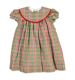 The Bailey Boys Mistletoe Plaid Float Dress