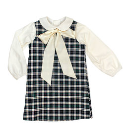 The Bailey Boys Hunter Plaid Liza Dress with Blouse