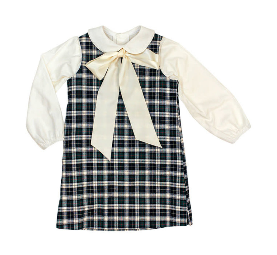 *PREORDER* Hunter Plaid Liza Dress with Blouse