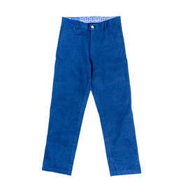 J Bailey Navy Twill Pants