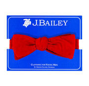 J Bailey *PREORDER* Red Cord Bow Tie