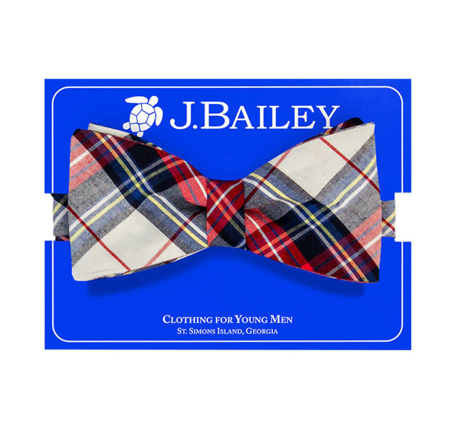 *PREORDER* Shaw Plaid Bow Tie