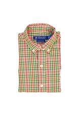 The Bailey Boys Mistletoe Plaid Button Down Shirt
