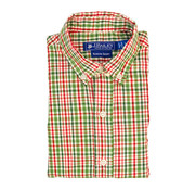 The Bailey Boys *PREORDER* Mistletoe Plaid Button Down Shirt