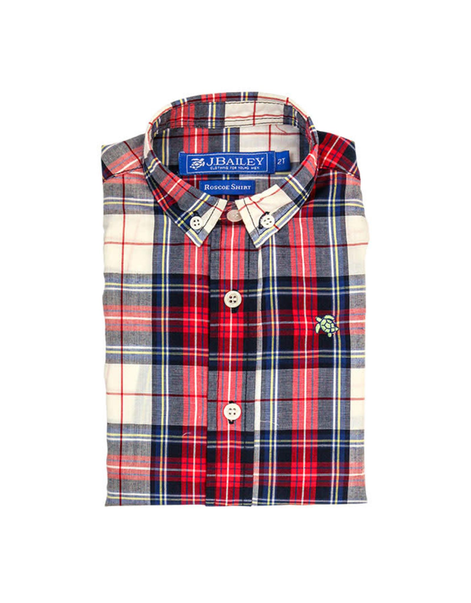 The Bailey Boys Shaw Plaid Button Down Shirt
