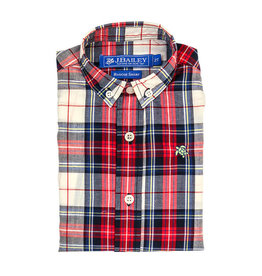 The Bailey Boys Shaw Plaid Button Down Shirt
