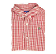 The Bailey Boys *PREORDER* Red Windowpane Button Down