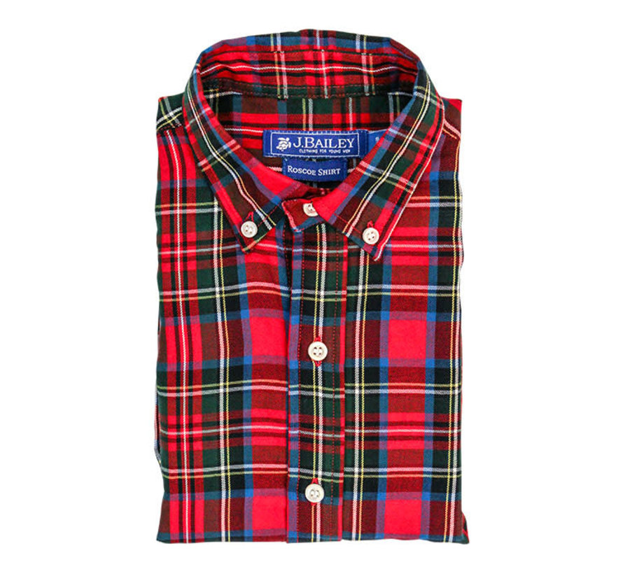 *PREORDER* Wales Plaid Button Down
