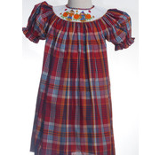 Scarecrow Smocked Bishop Dress