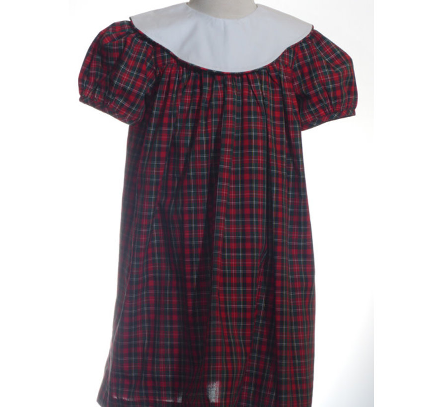 Holiday Plaid Monogrammable Dress