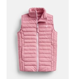 Joules Croft Cherry Blossom Padded Vest