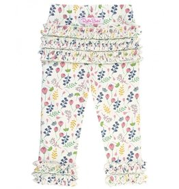 RuffleButts A Floral Affair Ruffle Leggings