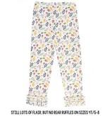 RuffleButts A Floral Affair Ruffle Leggings