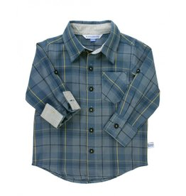 Noah Plaid Button Down Shirt