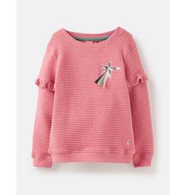 Joules Tiana Sequin Star Sweatshirt