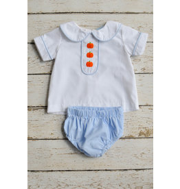 Three Sisters Pumpkin Patch Boys Bloomer Set
