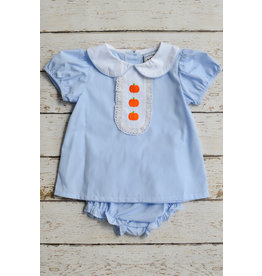 Three Sisters Pumpkin Patch Girls Bloomer Set