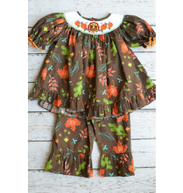 Turkey Smocked 2pc Set