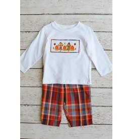 Scarecrow Smocked Pant Set