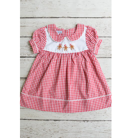 Sweet Dreams Girls Gingerbread Dress