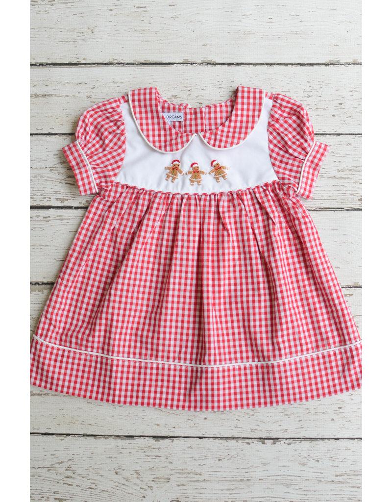 Sweet Dreams Girls Gingerbread Dress