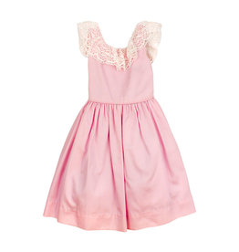 The Bailey Boys Pink Pearls Empire Dress