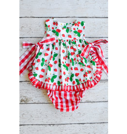 Sage & Lilly Sweet Strawberry Side Bow Set
