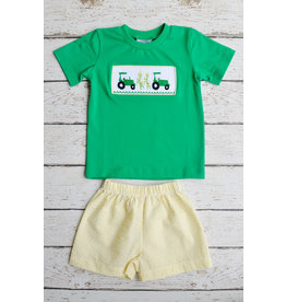 Three Sisters Planting Season Boys Tshirt and Shorts