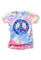 Wes & Willy Short Sleeve Peace Sign Tee
