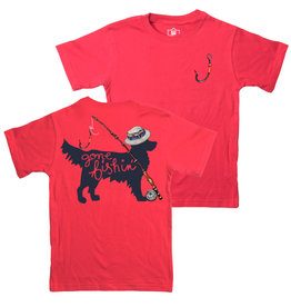Jack Thomas Short Sleeve Dog Fishing Tee