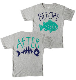 Wes & Willy Short Sleeve Before & After Tee