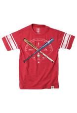 Wes & Willy Baseball Sleeve Stripe Tee