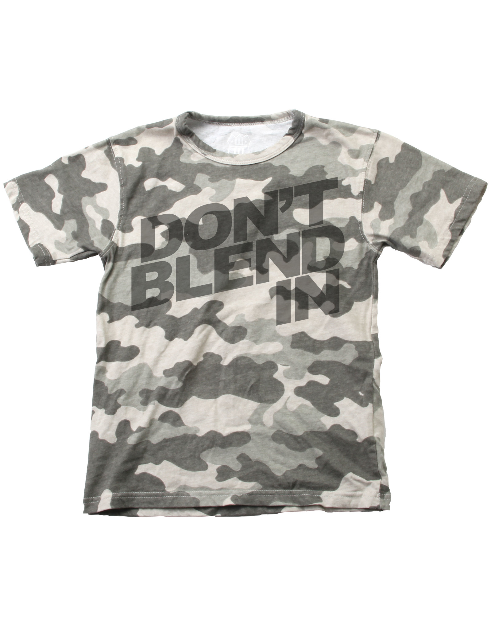 Wes & Willy Short Sleeve Don't Blend In Tee