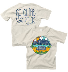 Wes & Willy Short Sleeve FB Climb a Rock Tee