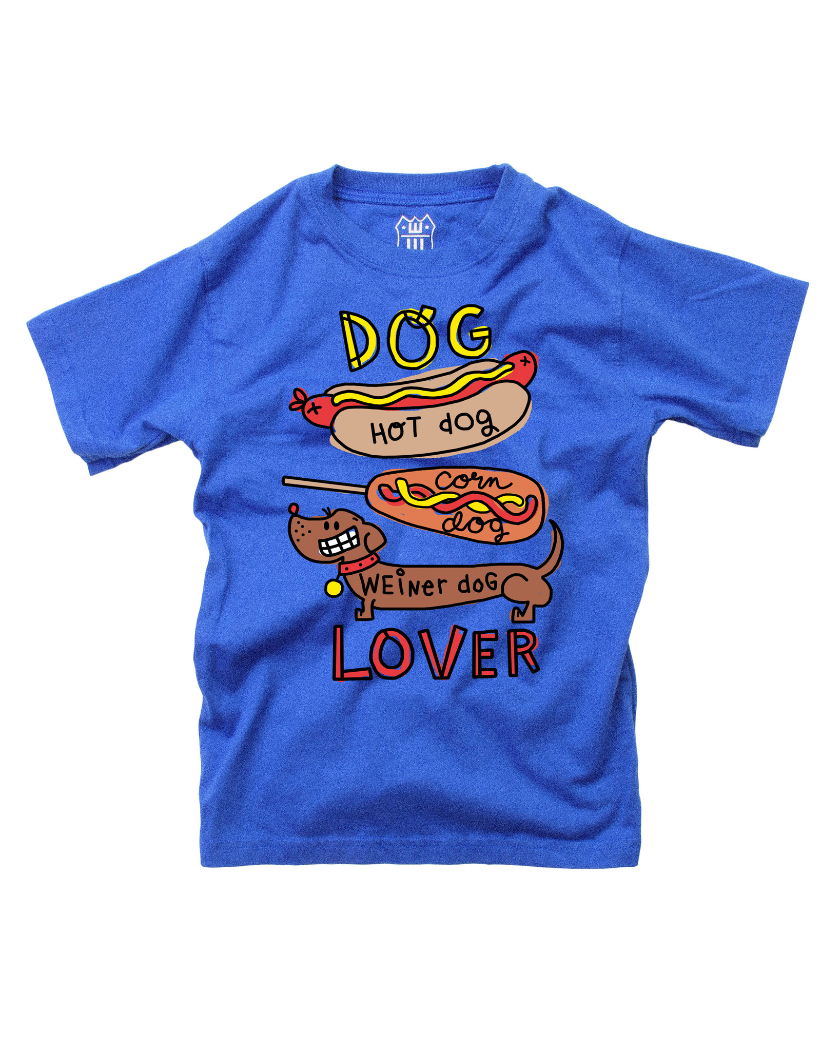 Wes & Willy Short Sleeve Dog Lover Tee