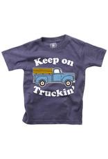 Wes & Willy Short Sleeve Keep on Truckin Tee